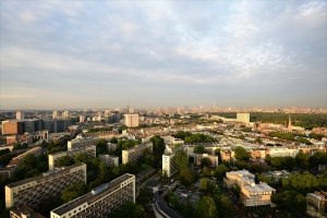 Paddington london city aerial drone photography