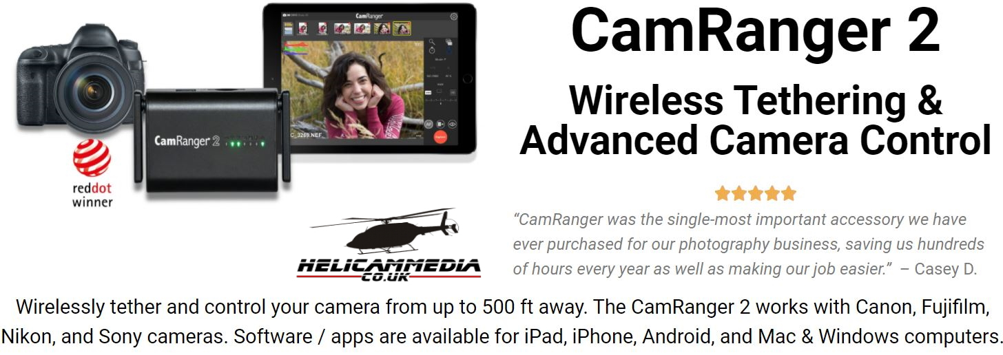 camranger2 Fast WiFi up to 500 ft