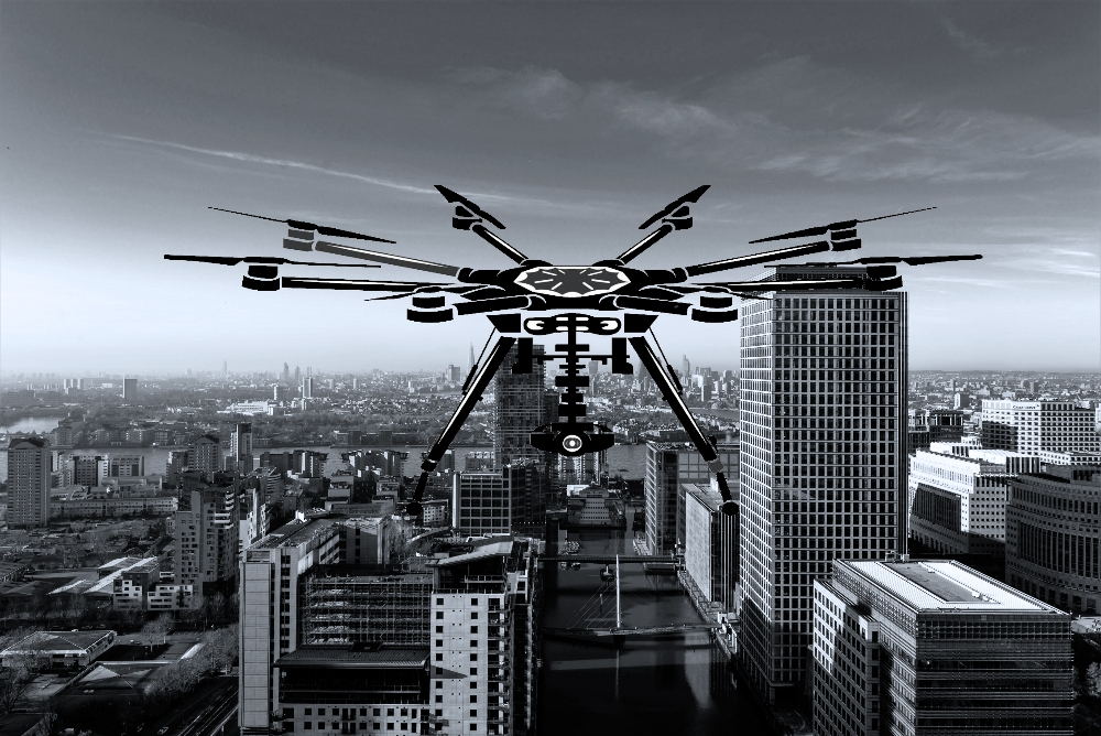 octocopter dslr heavy lift aerial drone filming photography