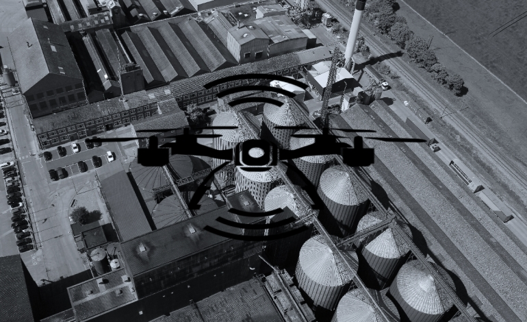 drone roof inspections land surveys commercial aerial photography company