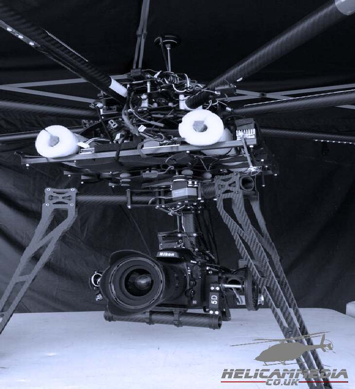 Arri red epic heavy lift drone octocopter