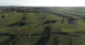 aerial photograph golf club course