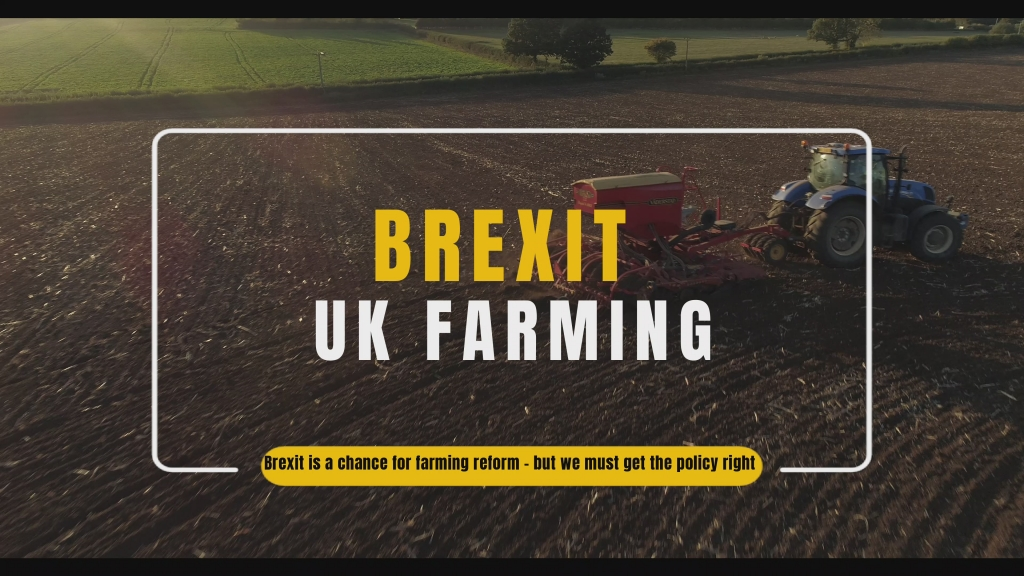 Brexit uk farming reform no deal EU referendum news and video borris johnson British Agricultural Policy after brexit